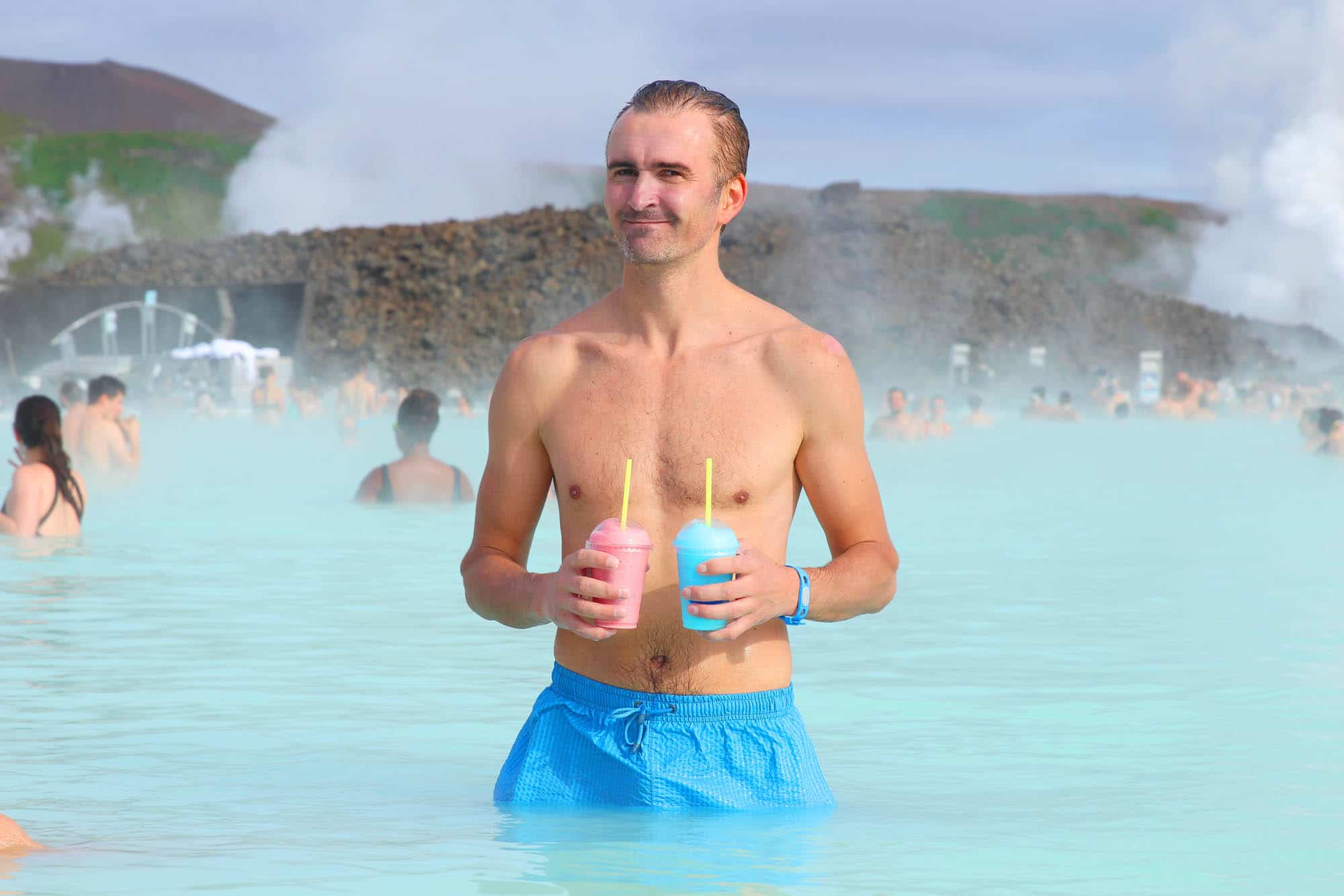 The Blue Lagoon - Reykjavik bachelor party - Iceland with friends