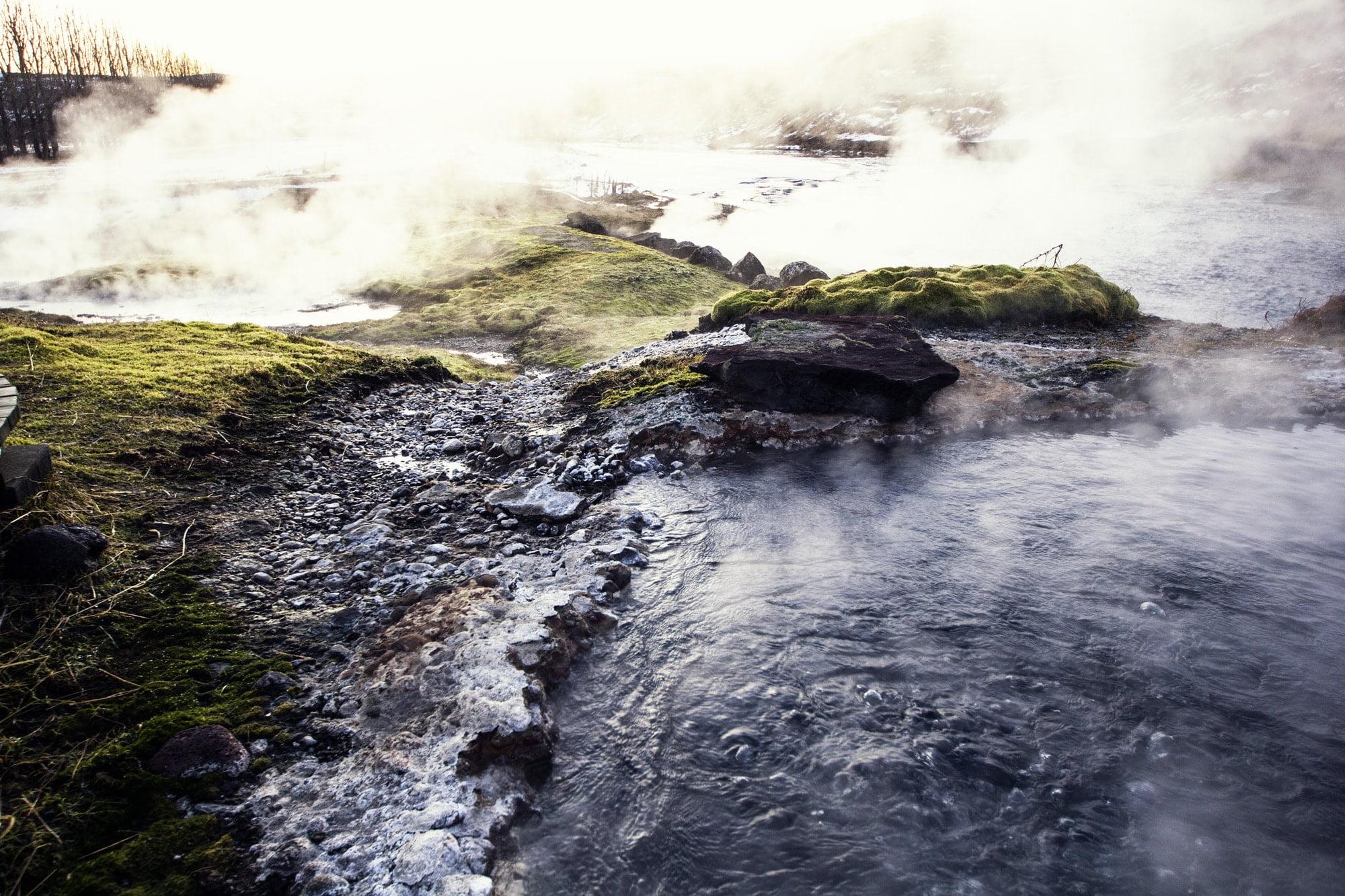 secret lagoon hot spring iceland