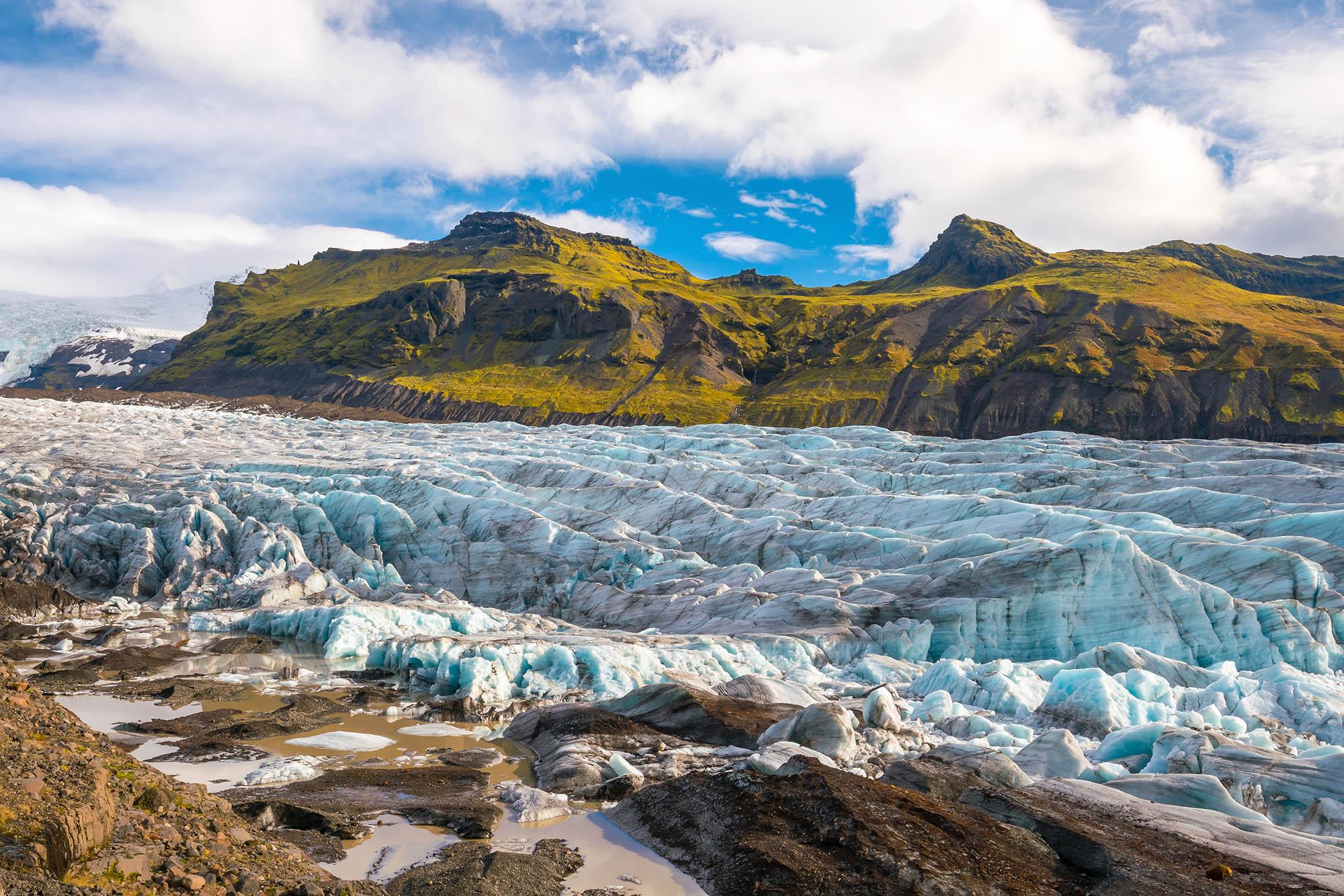 Svinafellsjökull Glacier - Iceland South Skaftafell