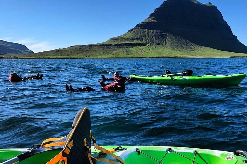 Snaefellsnes kayaking tour