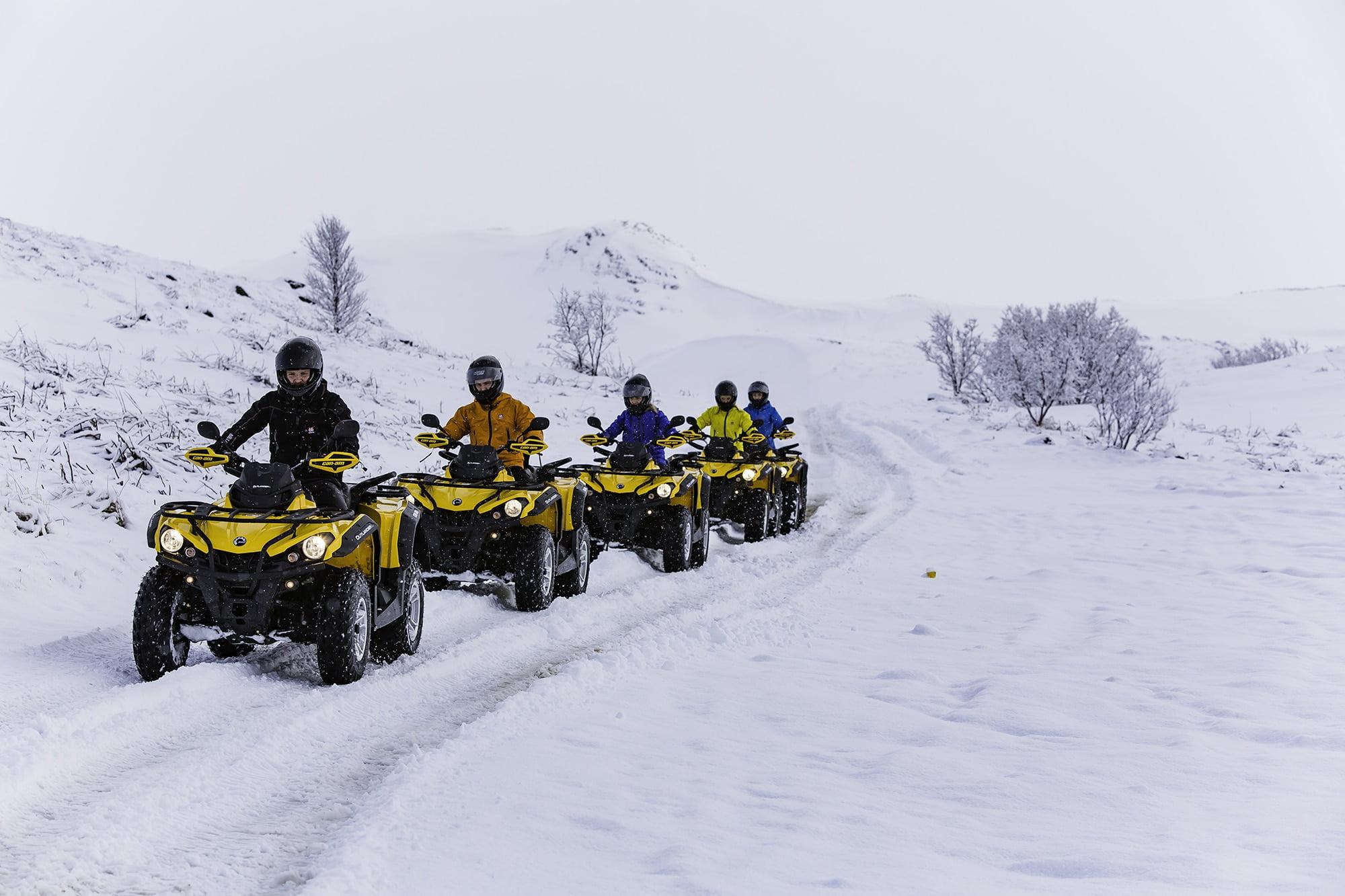 ATV tour from Reykjavik