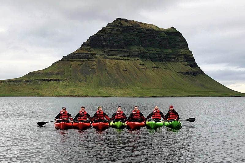 Iceland Kayaking Tour in Snaefellsnes