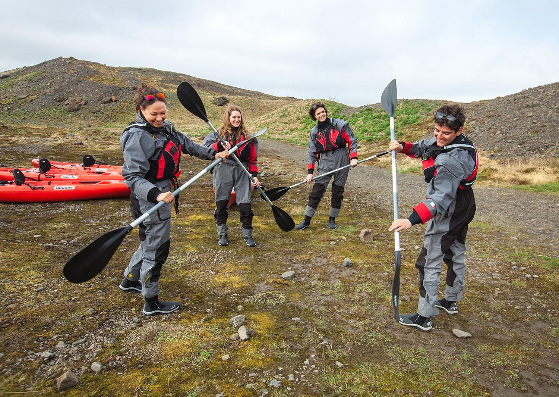 Glacier Kayaking Tour Iceland - Björgvin Hilmarsson