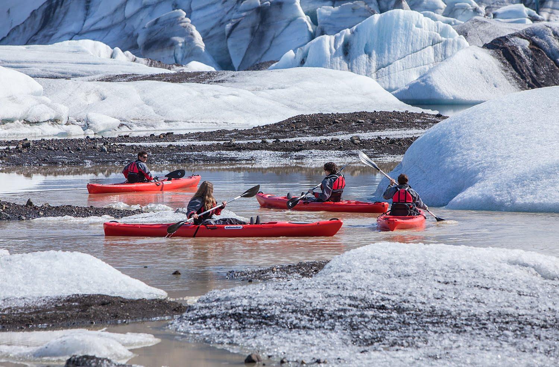 Iceland Kayaking Tour - Björgvin Hilmarsson