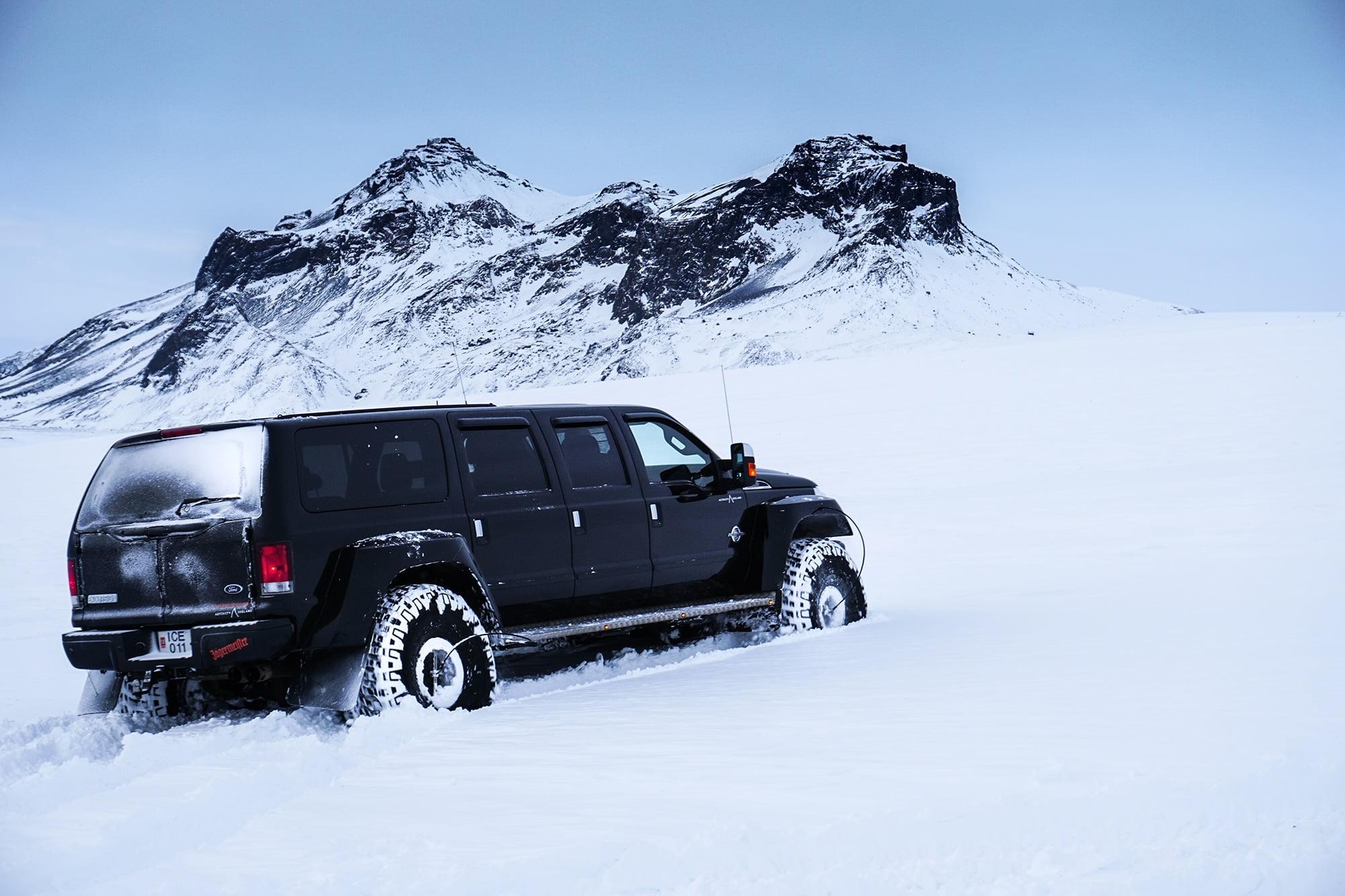 iceland glacier tour from reykjavik