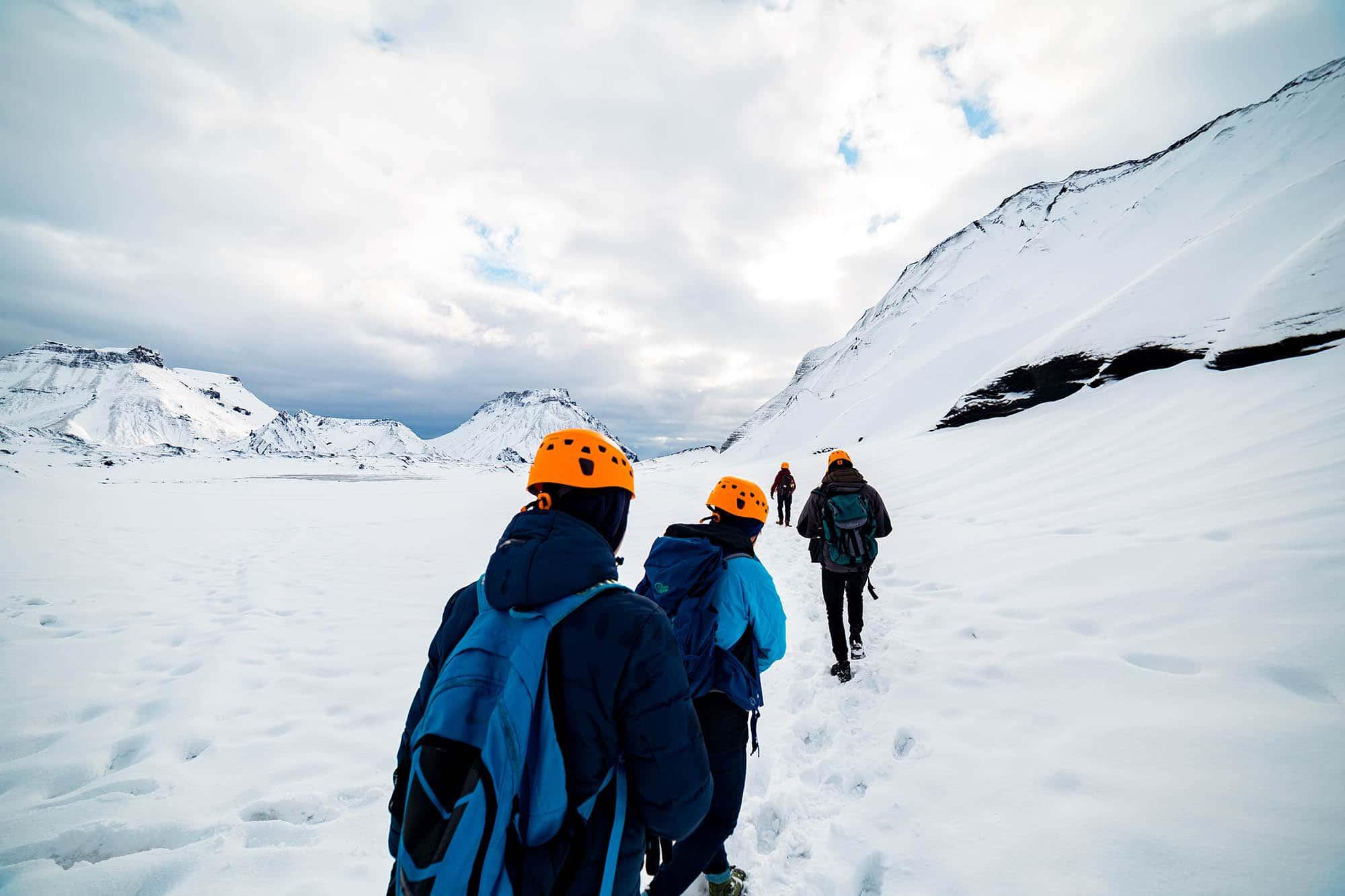 Katla ice cave summer - ice cave Vik
