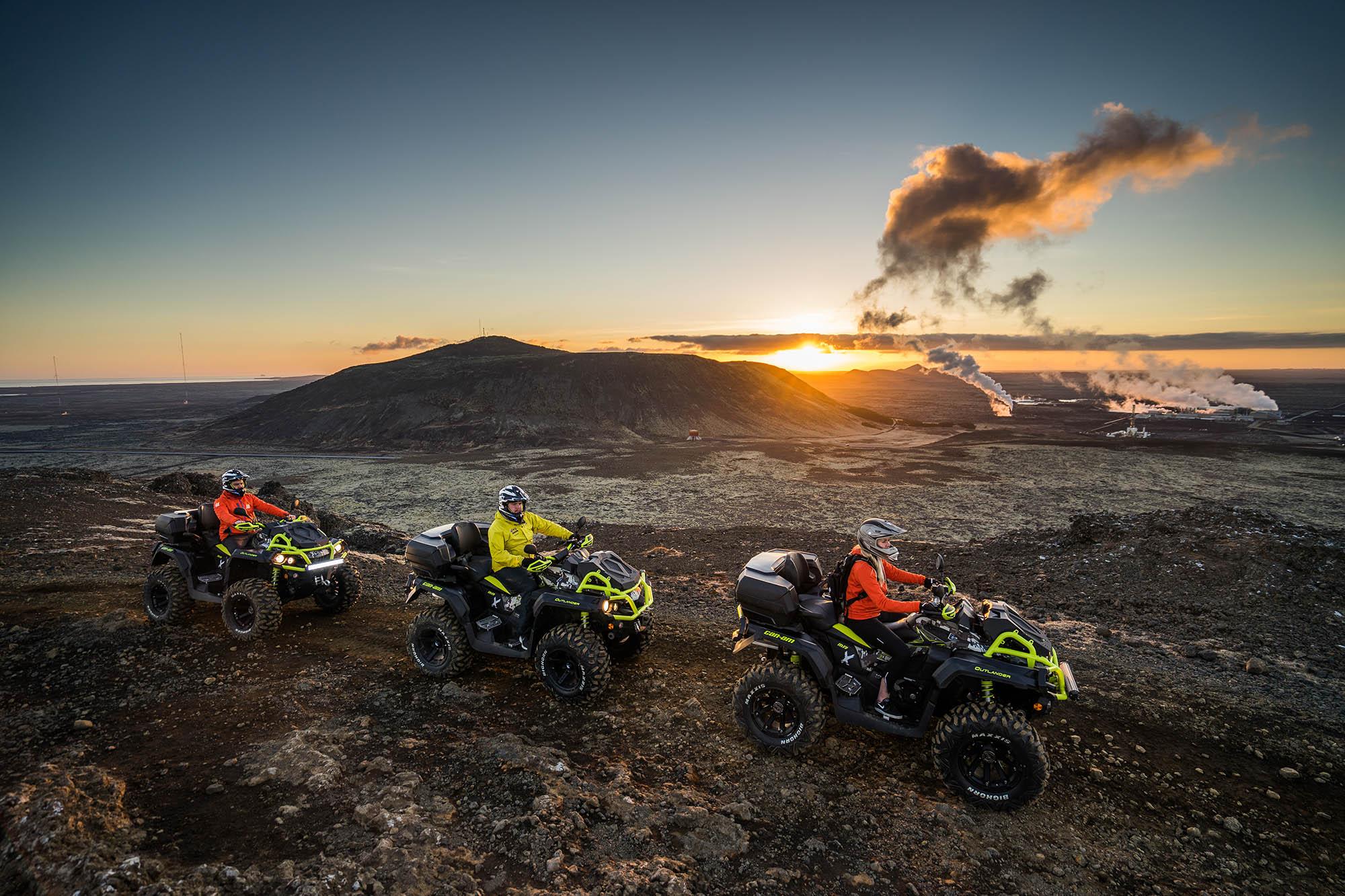Iceland ATV Reykjanes
