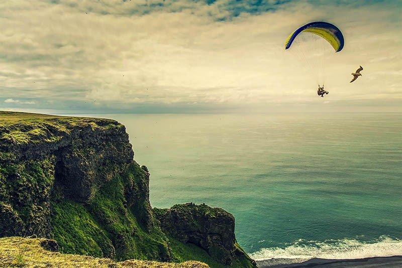 iceland paragliding
