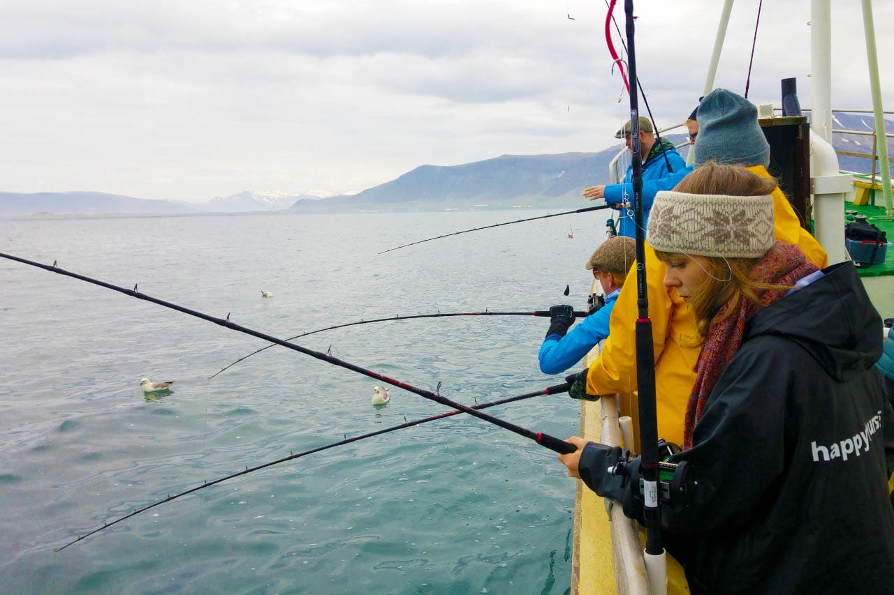 fishing tour iceland