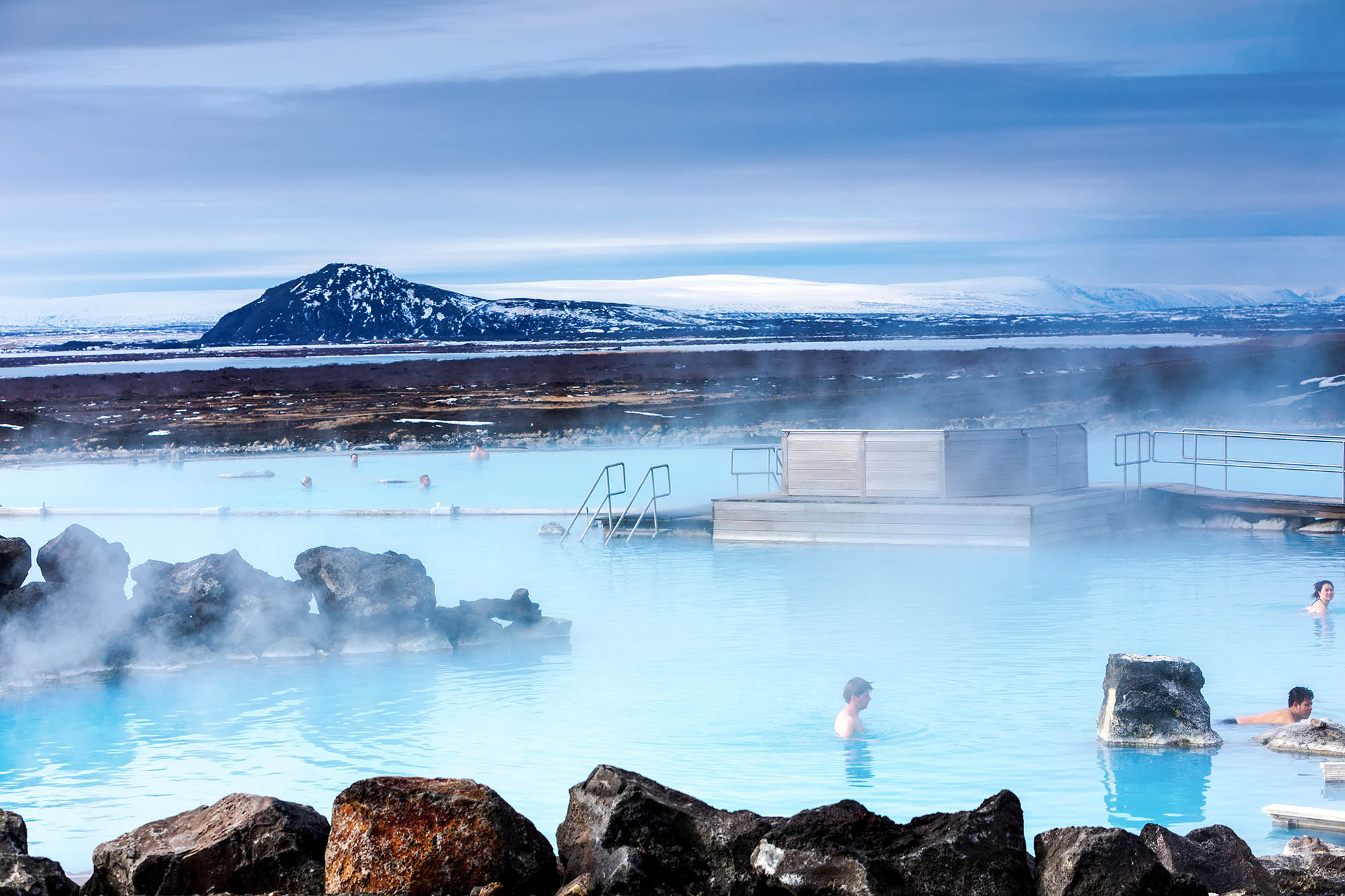 Private Myvatn tour with visit of the Myvatn nature baths