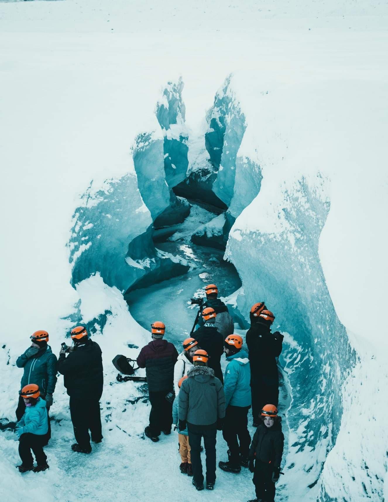 iceland ice cave tour by vatnajökull glacier