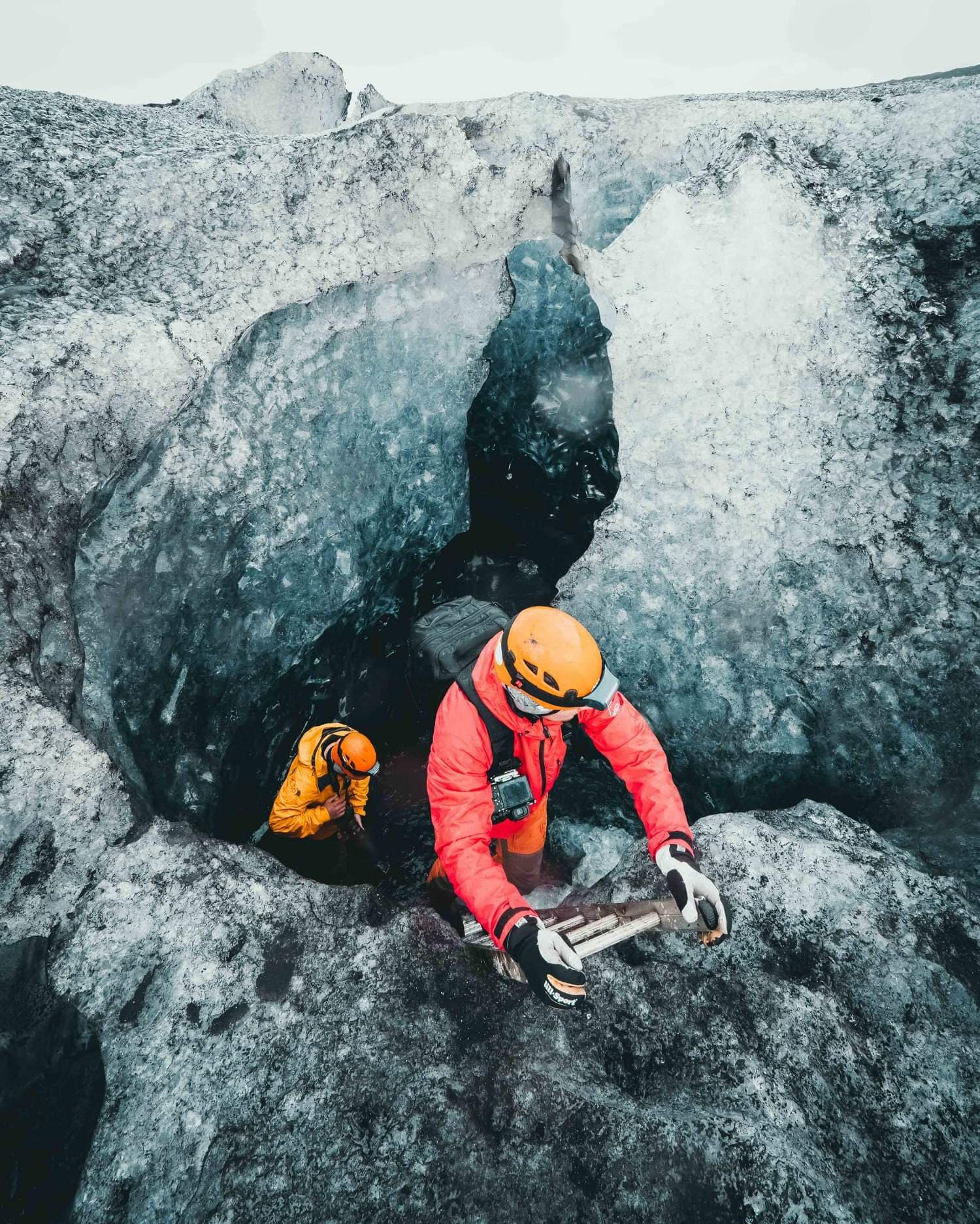 best ice cave tour iceland
