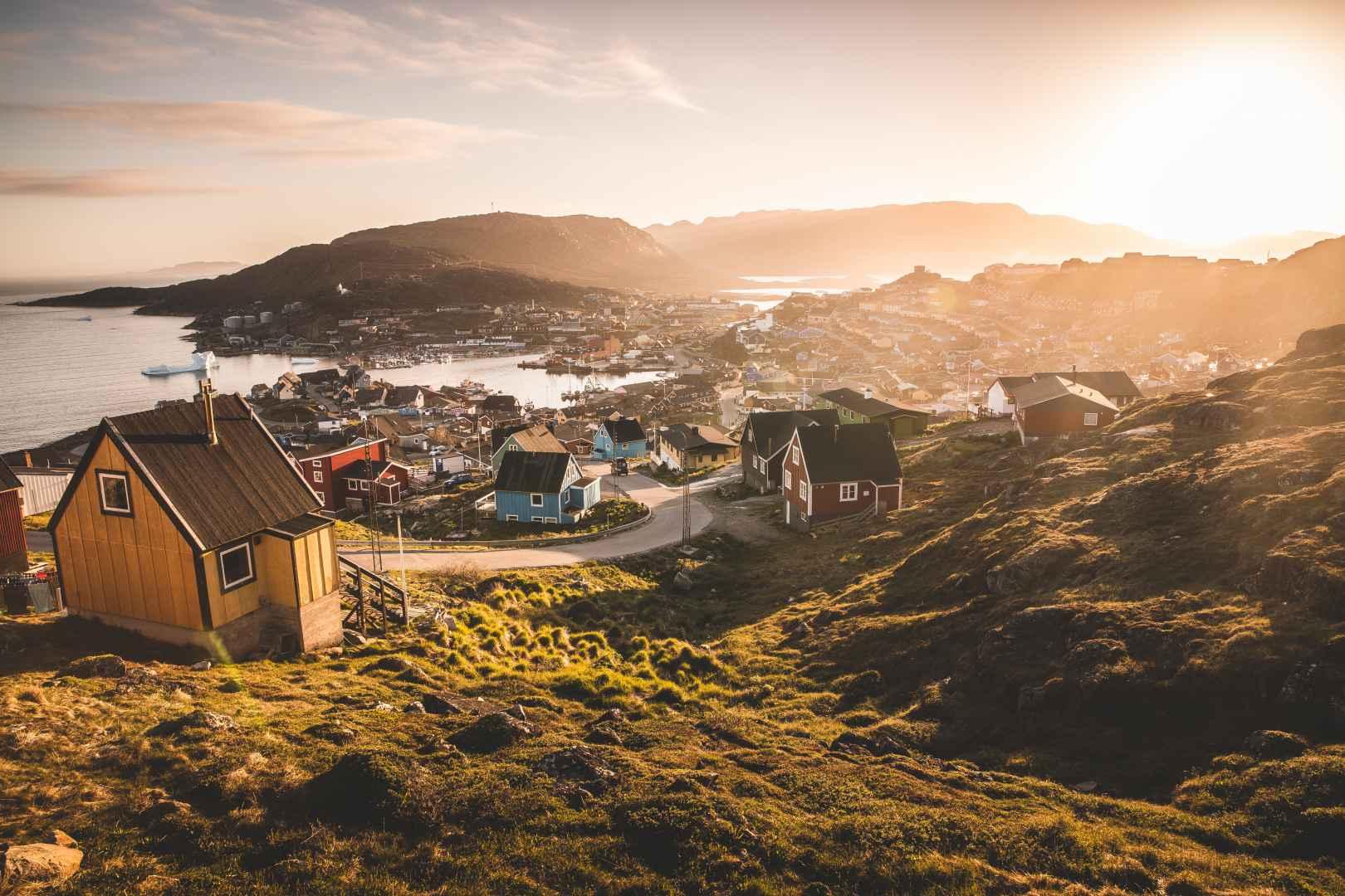 South Greenland Qaqortoq